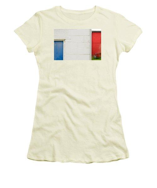 Women's T-Shirt (Junior Cut) featuring the photograph Colors by Brian Duram