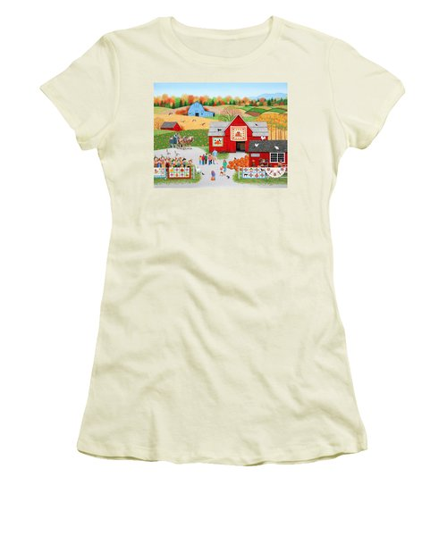 Colors Of Autumn Women's T-Shirt (Athletic Fit)