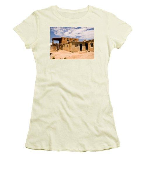Acoma Pueblo Home Women's T-Shirt (Athletic Fit)