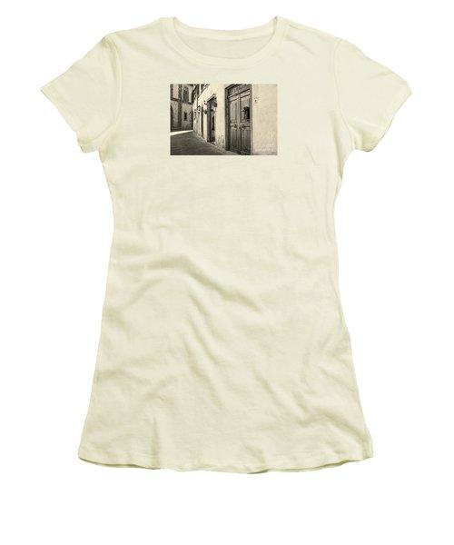 Corner Of Volterra Women's T-Shirt (Athletic Fit)