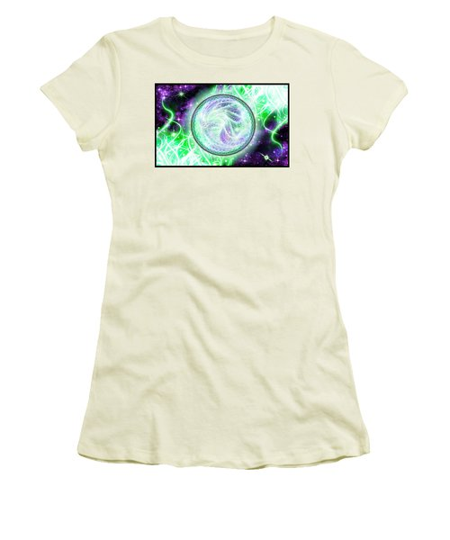 Cosmic Lifestream Women's T-Shirt (Athletic Fit)