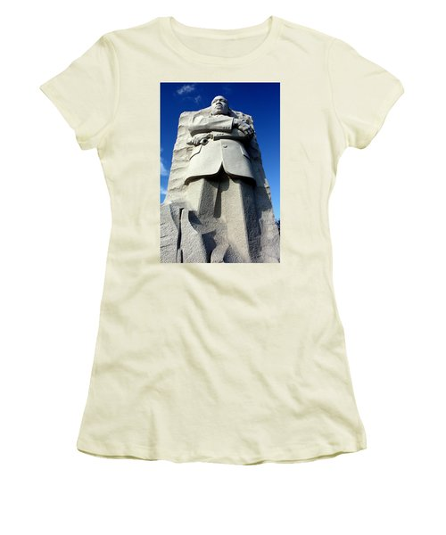 Women's T-Shirt (Junior Cut) featuring the photograph Courage by Suzanne Stout