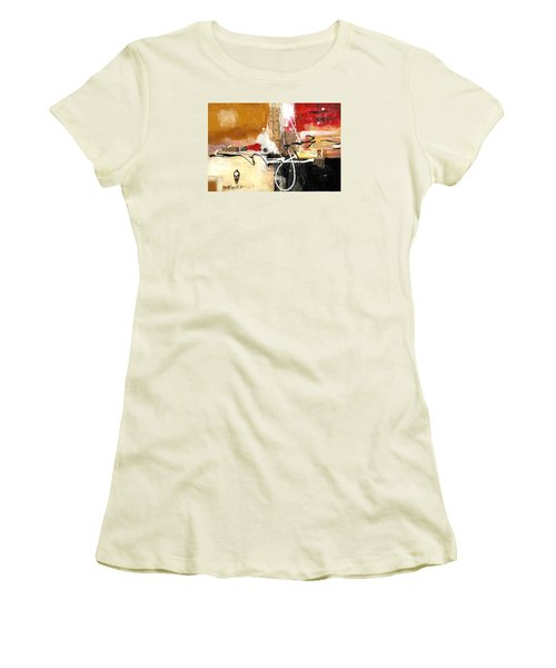 Cultural Abstractions - Hattie Mcdaniels Women's T-Shirt (Junior Cut)