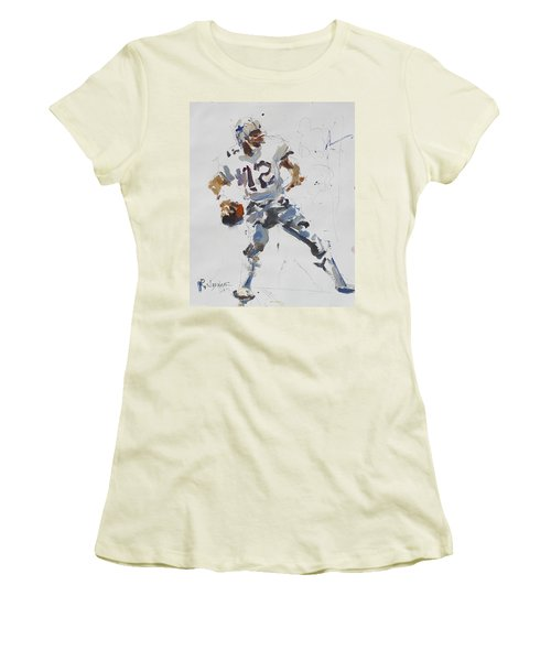 Dallas Cowboys - Roger Staubach Women's T-Shirt (Athletic Fit)