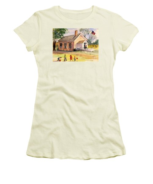 Days Gone By Women's T-Shirt (Junior Cut) by Marilyn Smith