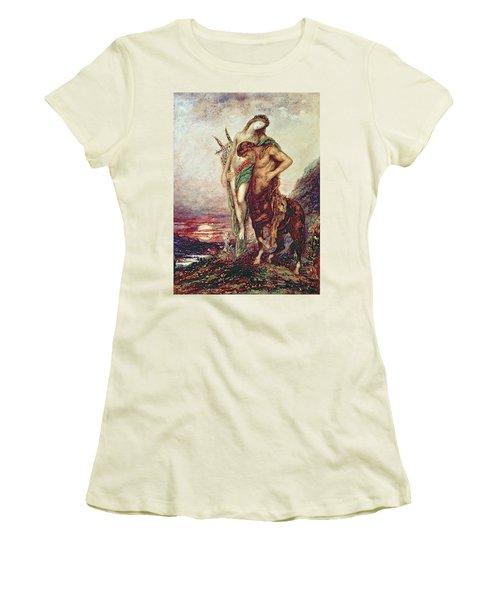 Dead Poet Borne By Centaur Women's T-Shirt (Athletic Fit)
