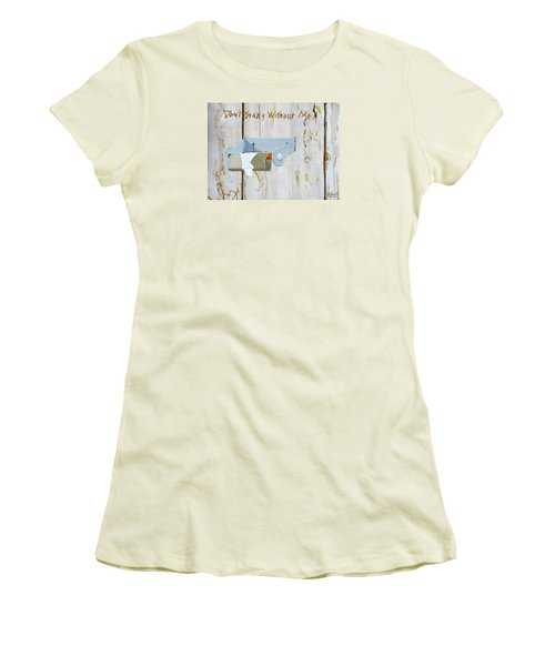 Deer Lease Dilemma Women's T-Shirt (Athletic Fit)
