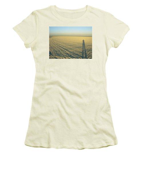 Women's T-Shirt (Junior Cut) featuring the photograph Desert Like by David Nicholls