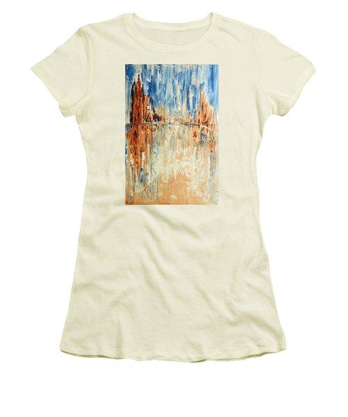 Desert Mirage Women's T-Shirt (Athletic Fit)