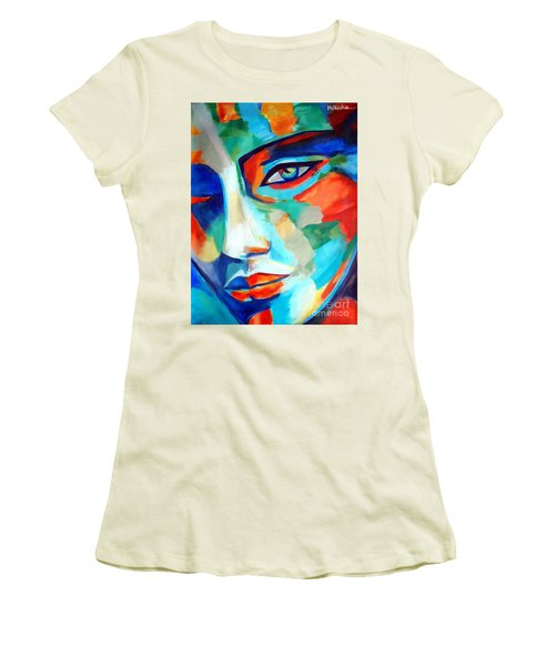 Divine Consciousness Women's T-Shirt (Athletic Fit)