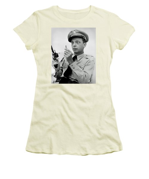 Barney Fife - Don Knotts Women's T-Shirt (Athletic Fit)