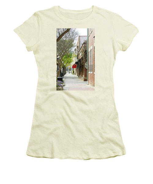 Downtown Aiken South Carolina Women's T-Shirt (Athletic Fit)
