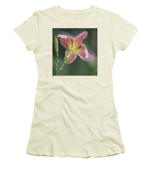 Dreamy Daylily Women's T-Shirt (Junior Cut) by Patti Deters