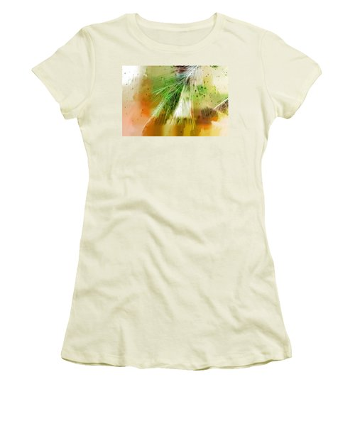 Earth Silk Women's T-Shirt (Junior Cut) by Holly Kempe