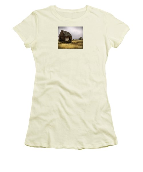Earthly Possessions Women's T-Shirt (Junior Cut) by Jean OKeeffe Macro Abundance Art