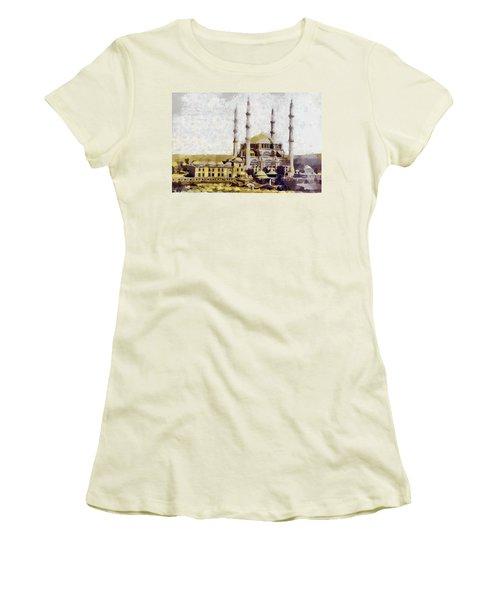 Edirne Turkey Old Town Women's T-Shirt (Junior Cut) by Georgi Dimitrov