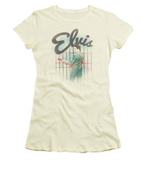 Elvis - Colorful King Women's T-Shirt (Athletic Fit)