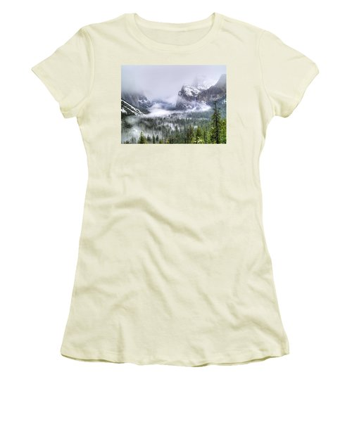 Enchanted Valley Women's T-Shirt (Junior Cut) by Bill Gallagher