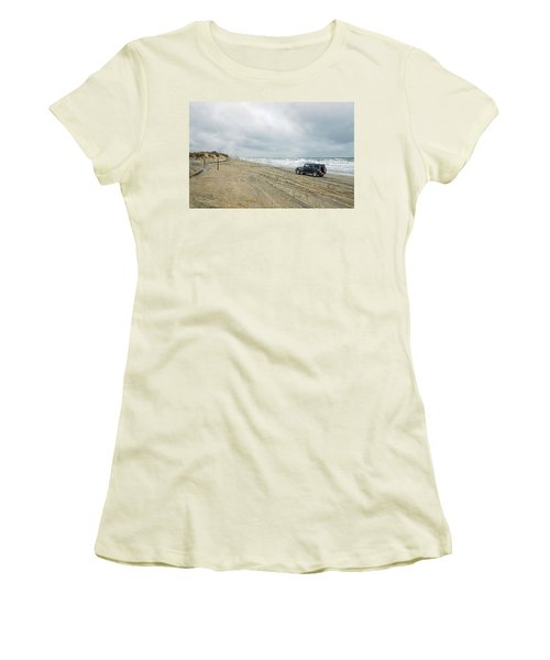 End Of The Road Women's T-Shirt (Athletic Fit)