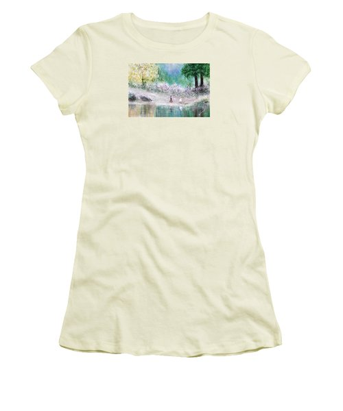 Endless Day Women's T-Shirt (Junior Cut) by Kume Bryant