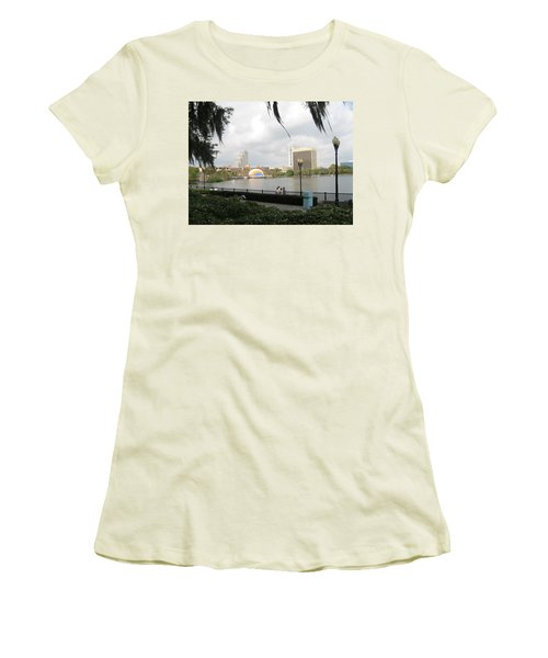 Eola Park In Orlando Women's T-Shirt (Athletic Fit)