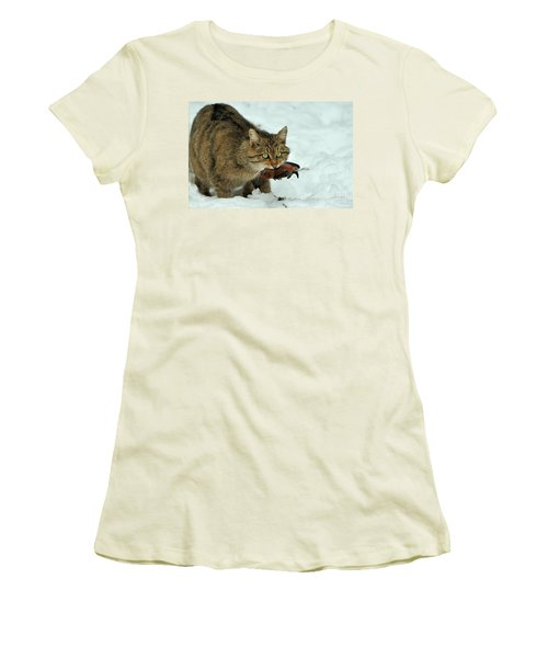 European Wildcat Women's T-Shirt (Athletic Fit)