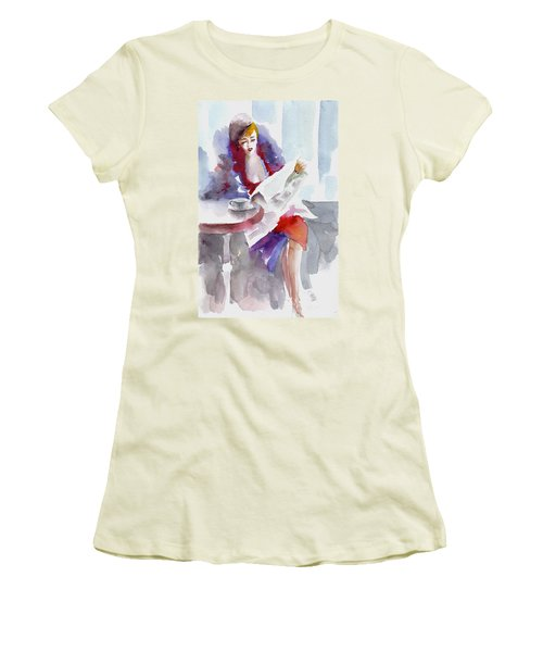 Expectation.. Women's T-Shirt (Athletic Fit)