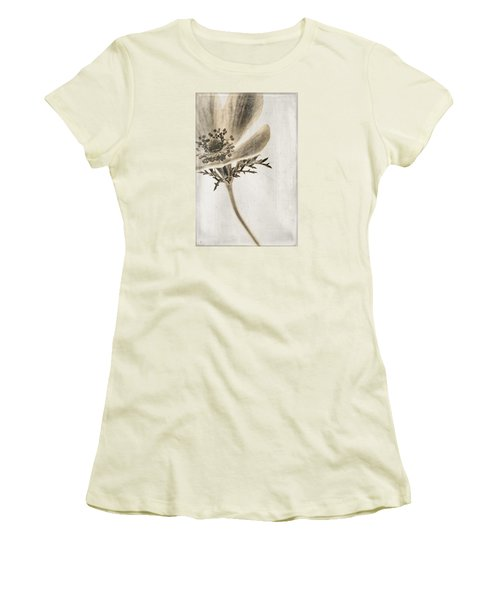 Faded Memory Women's T-Shirt (Junior Cut) by Caitlyn  Grasso