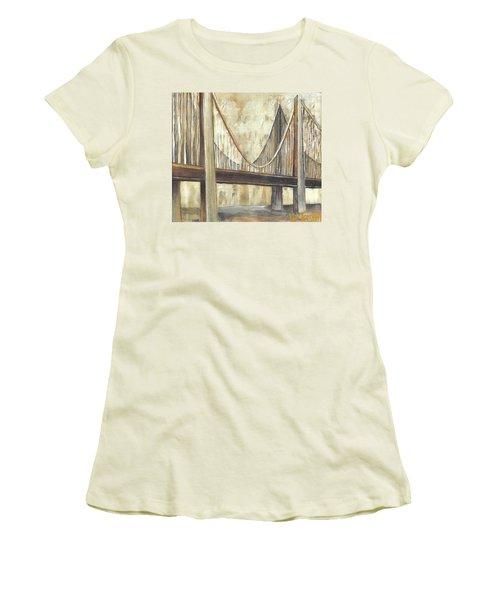 'faith' Women's T-Shirt (Athletic Fit)