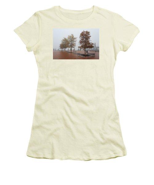 Fall Fog Women's T-Shirt (Junior Cut)