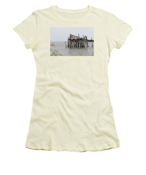 Fallen Deckhouse Women's T-Shirt (Athletic Fit)