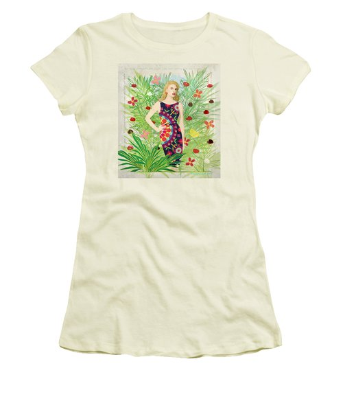 Fashion And Art - Limited Edition 1 Of 10 Women's T-Shirt (Junior Cut) by Gabriela Delgado