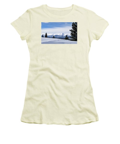 February Wind Women's T-Shirt (Athletic Fit)