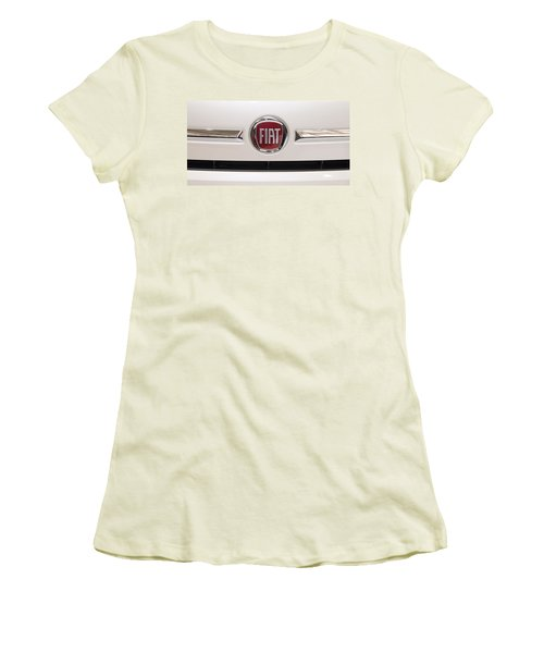 Fiat Logo Women's T-Shirt (Athletic Fit)