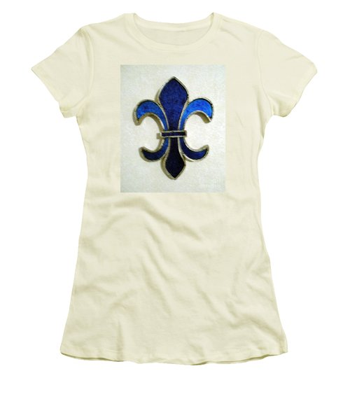 Women's T-Shirt (Junior Cut) featuring the photograph Fleur De Lis by Joseph Baril