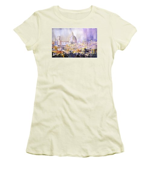 Florence Duomo Women's T-Shirt (Athletic Fit)