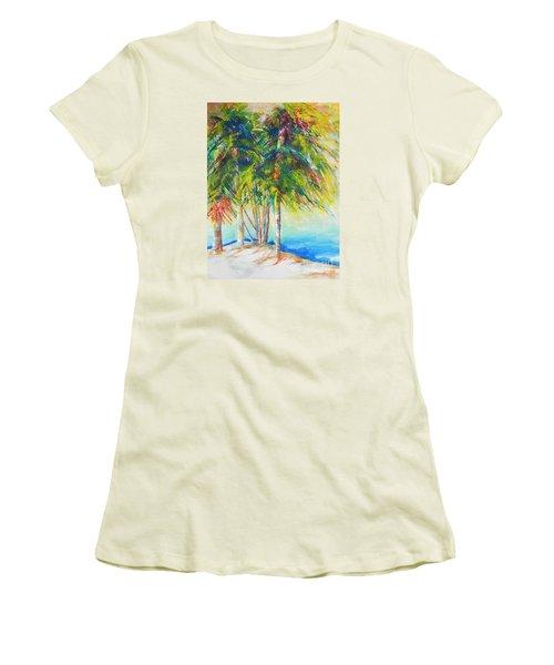 Florida Inspiration  Women's T-Shirt (Junior Cut) by Chrisann Ellis