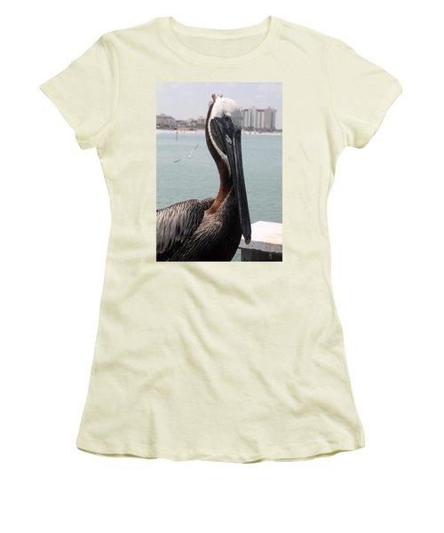 Women's T-Shirt (Junior Cut) featuring the photograph Florida's Finest Bird by David Nicholls