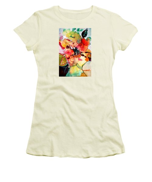 Flower Vase No. 2 Women's T-Shirt (Junior Cut) by Michelle Abrams