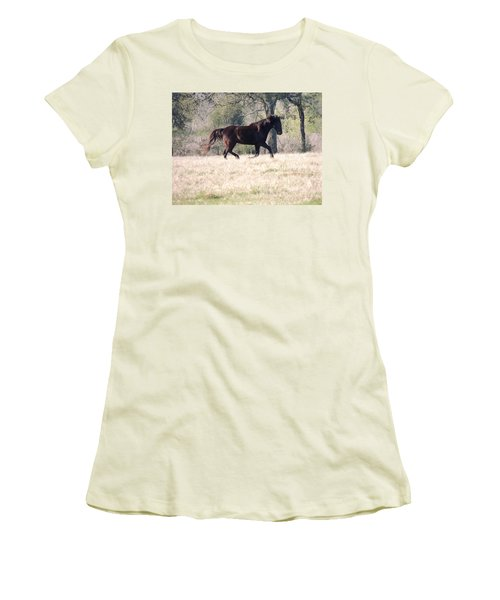 Flowing Beauty Women's T-Shirt (Junior Cut) by Kim Pate