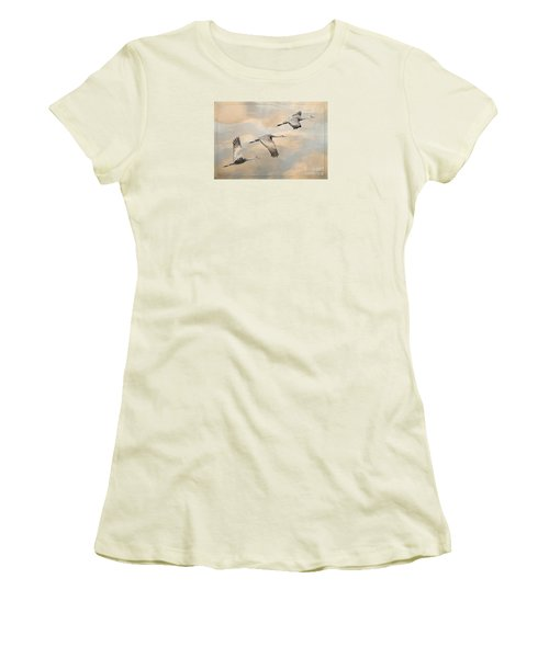 Fly Away Women's T-Shirt (Junior Cut) by Alice Cahill