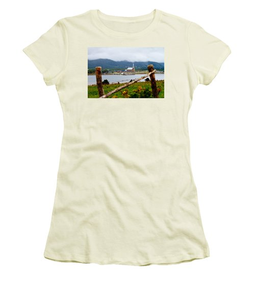 Foggy Day In Cheticamp Women's T-Shirt (Athletic Fit)