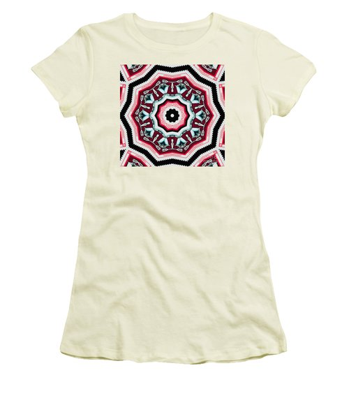 Food Mixer Mandala Women's T-Shirt (Athletic Fit)