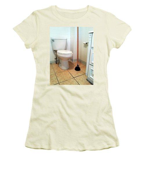 For The Big Jobs. Women's T-Shirt (Junior Cut) by Lon Casler Bixby