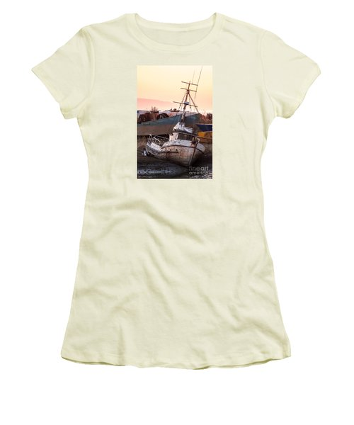 Forgotten In Homer Women's T-Shirt (Junior Cut) by William Fields
