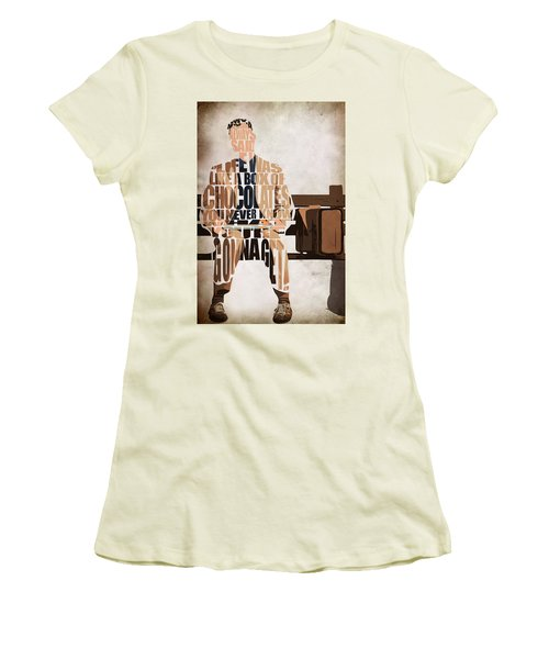 Forrest Gump - Tom Hanks Women's T-Shirt (Athletic Fit)