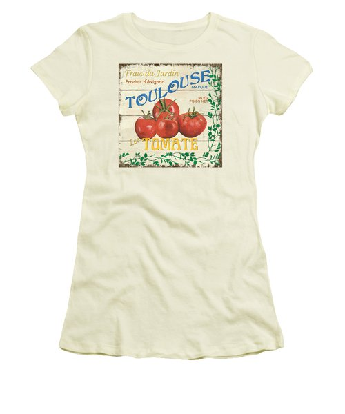 French Veggie Sign 3 Women's T-Shirt (Athletic Fit)