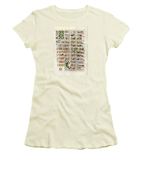 From Union Square To Madison Square Women's T-Shirt (Junior Cut) by AFineLyne