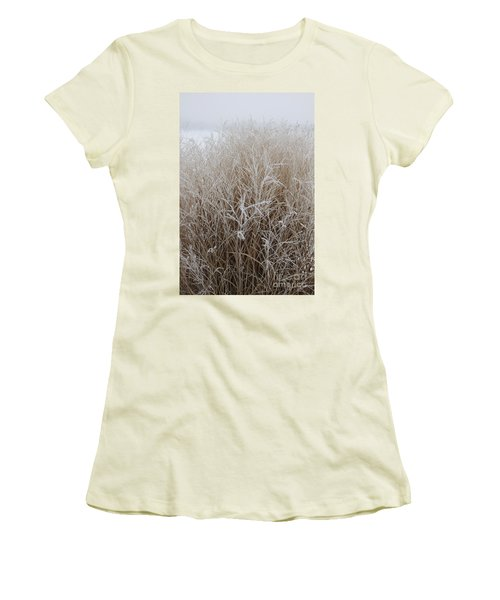 Frozen Grass Women's T-Shirt (Athletic Fit)
