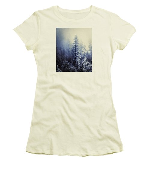 Frozen In Time Women's T-Shirt (Junior Cut) by Melanie Lankford Photography